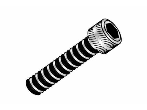 Cap Head screw M2x6mm x10pcs -Black