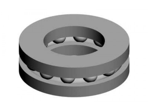Thrust bearing 4x8x3,5 -00727