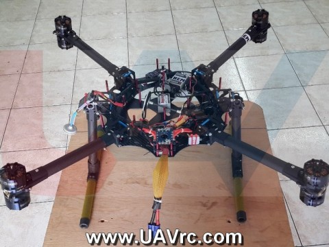 Carbon Fiber Frame with CNC Boom Clamps F333x2mm -Combo