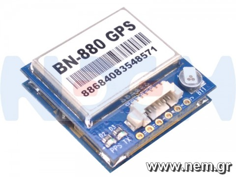 BN-880 GPS Module, Dual Module Compass with Cable for APM 2.6, 2.8, Pixhawk 2.4.7, 2.4.8