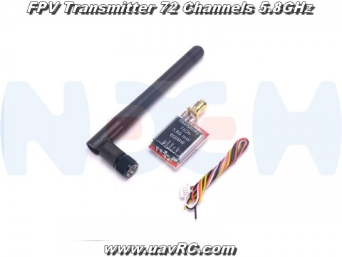 FPV Transmitter TS5828L 5.8GHz, 600Mw, 72 channels
